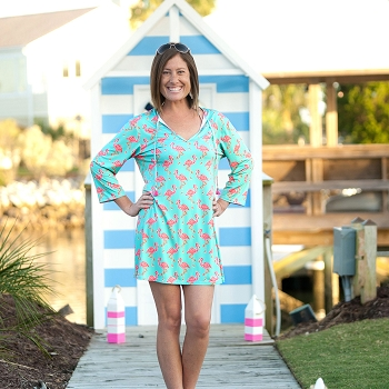 Flamingo Beach Tunic